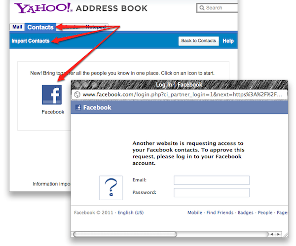Import your Facebook Contacts into Google+